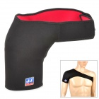 Stretch Neoprene Shoulder Wrap Brace Support - Black