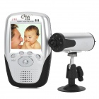 "KNK KNK-639R+301 2.4G Wireless 2.5"" LCD CMOS Baby Monitoring Surveillance Camera w/ LED Night Vision"