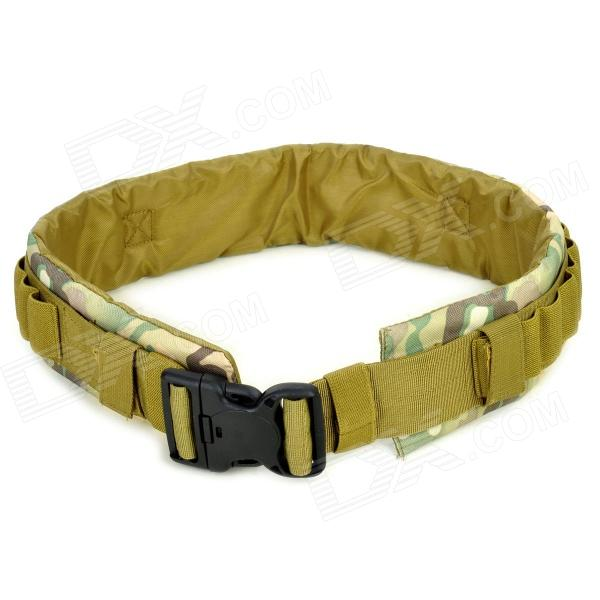 SW3059 Military Tactical Outdoor Nylon Oxford Fiber Waist Belt - CP Camouflage Color