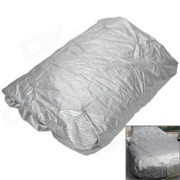 Protective Water Resistant Dust-Proof Anti-Scratching SUV Car Nylon Cover - Silver (Size L)