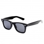 KaShiLuo 2140 Men's Bicycle Riding Polarized UV400 Protection Sunglasses - Black