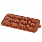 DIY Silicone Dinosaur Style 12-Cup Chocolate / Ice Mold - Coffee