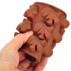 Silicone DIY Estilo Dinosaur 12-Cup Mold Chocolate / Ice - Coffee