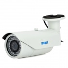 "Longse LIZ40HNB Water Resistant 2.0MP 1/3"" CCD Surveillance Camera w/ 42-IR LED / NTSC - White"