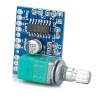 5V Mini Power Digital Amplifier Board for Battery / Portable Digital Products - Blue