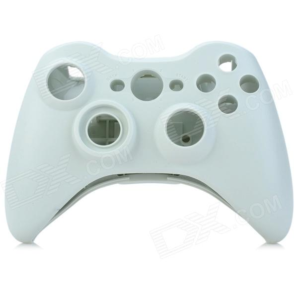 Replacement Housing Case Cover for Xbox360 Wireless Controller Joystick - White