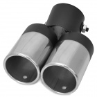 Stainless Steel Exhaust Muffler for Chevrolet Cruze / Epica / Lova / New Sail - Silver + Black