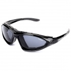BILLETE 9137 Men's Bicycle Riding Polarized UV400 Protection Sunglasses - Black