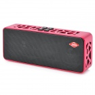 JinXing JXD-X18 Mini Multi-Function Bluetooth v2.1 + EDR 2.1-Channel Speaker - Red + Black