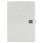 Stylish Protective PU Leather Case for Ipad MINI - Silver