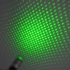 200300 Dot + Starry Sky 5mW 532nm Green Laser Pointer - Black (2 x AAA)