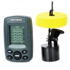 "FF108 2.4"" LCD Sonar Fish Finder w/ Temperature Display - Grey (4 x AAA)"