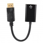 DPTOHDMI1.4 Display V1.2 to HDMI V1.4 Converting Cable for MacBook + More - Black (16cm)