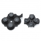 2-in-1 Replacement Console Controller Key Cover Parts for Sony PSP3000 - Black
