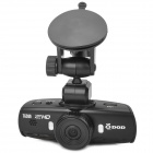 "DOD TG300 HD 1080P 1.5"" TFT Wide Angle Night Vision Car DVR w/ Mini HDMI / 8X Digital Zoom - Black"