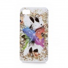 Colorful Butterfly Pattern Protective TPU Case for BlackBerry Z10