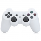 2.4GHz IR Wireless Dual-Shock Game Controller Joystick for PS3 / PS3 Slim / PS3 CECH / PC - White
