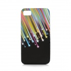 Meteor Style Protective TPU Back Case for BlackBerry Z10 - Multicolor