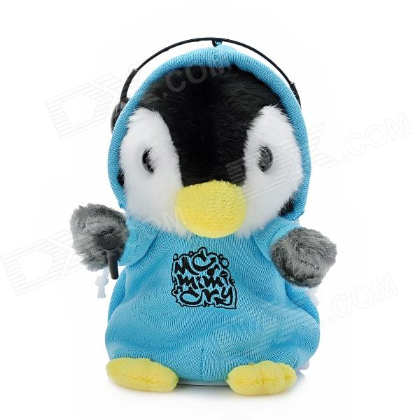MC DJ Rapper Mimicry Pet Early Learning porter kleding Hamster Talking speelgoed voor Kids Herhaal T
