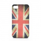 Retro UK National Flag Pattern Protective TPU Case for BlackBerry Z10 - White + Red + Black