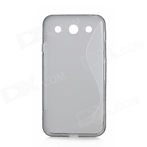 """S"" Style Protective TPU Back Case for LG Optimus G Pro / F240L / F240K / F240S - Grey"