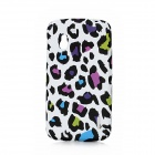 Colorful Spots Style Protective TPU Back Case for LG E960 Nexus 4 - Multicolor