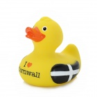 """I Love Cornwall"" Latex Baby Bath Doll - Yellow"