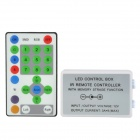 72W 24-key IR Remote Control Box Set for 9-CH LED Light Strip / LED Module - White + Black + Blue