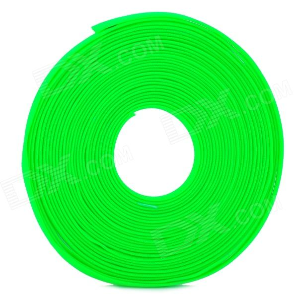 DIY Protective Knit Mesh Cable Cover Shield for Computer Cable - Fluorescent Green (8.0mm / 16m) diy protective 6mm pet braided cable expandable mesh sleeve red 15m