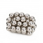 Buckyballs Magnetic Magic Beads - Silver (55 PCS / 9mm)