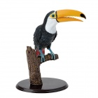 Assembly Colorful Giant Hornbills Decoration Jigsaw Toy