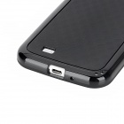 Cube Style Protective TPU Back Case for Samsung Galaxy S4 i9500 - Black