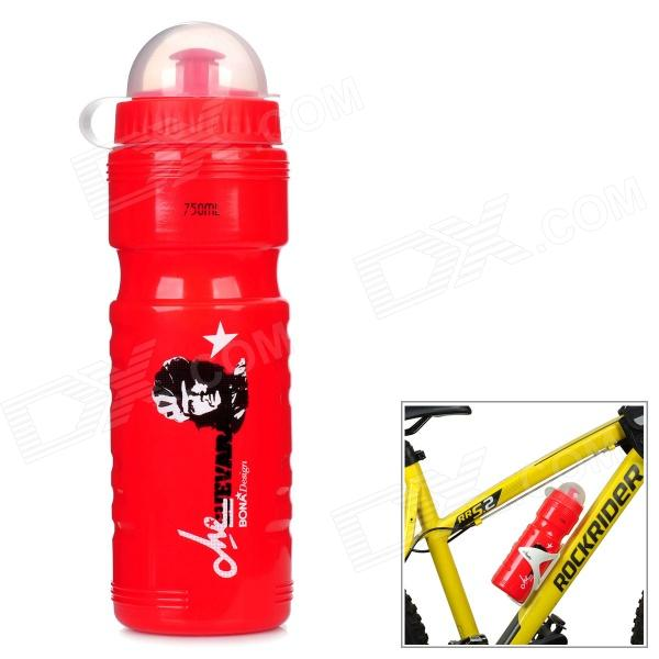 SPAKCT S13K01 Outdoor Sports Cycling PP Water Bottle - Red (750mL)