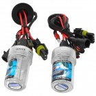 Merdia HID6000KCOO8KH1 H1 35W 3000LM 8000k Blue Light Car HID Lamps w/ Ballasts Set