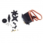 TR220 Metal Gear Digital Torque Servos w/ Gears and Parts - Black