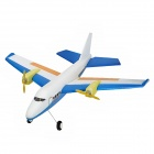 2.4GHZ 2-CH Radio Control R/C Airplane Model - Blue + White + Yellow + Orange