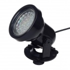 Waterproof 3W 40lm 36-LED Automatically Change Color Decorative Light for Aquarium / Pool - Black