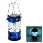 HC-031 Multifunction 200lm LED White Light Bivouac Lantern Lamp w/ Compass - Blue + Black (3 x AA)