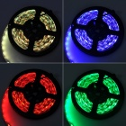 60W 1500lm Decoration 300-SMD RGB Light Strip w/ 44-Key Remote (5M)