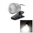 UY-001 1W 100lm 5500K USB Energy-Saving Lamp - Black + Silver
