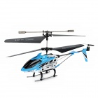 SyMA S107N USB Rechargeable 3-CH IR Control R/C Helicopter w/ Gyroscope - Blue + Black