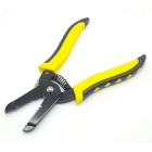 "HF-5021 7"" Cold-rolled plate 7-Size Wire Stripper / Pliers - Black + Yellow"