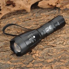 LWJ-2B15 Cree XM-L T6 450lm 5-Mode White Zooming Flashlight - Black (1 x 18650 / 3 x AAA)