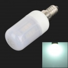 SENCART E14 4W 250~300lm 6500K 24-SMD 5060 LED White Light Bulb - White