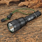Raysoon RS-F18 500lm 5-Mode White Flashlight w/ Cree XM-L U2 - Black (1 x 18650)
