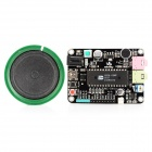 ISD4004 Plastic + Iron + PCB Voice / Recording Module Kit - Black