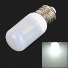 SENCART E27 4W 250~300lm 6500K 24-SMD 5060 LED White Light Bulb - White