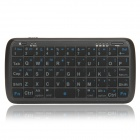 PK-001 5000mAh Portable Mobile Power Bank w/ Mini Bluetooth V3.0 Keyboard - Black