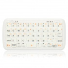 PK-001 5000mAh Portable Mobile Power Bank w/ Mini Bluetooth V3.0 Keyboard - White