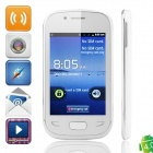 "S5292 Android 4.0.4 GSM Smartphone w/ 3.5"" Capacitive Screen, Wi-Fi, Quad-Band and TV - White"